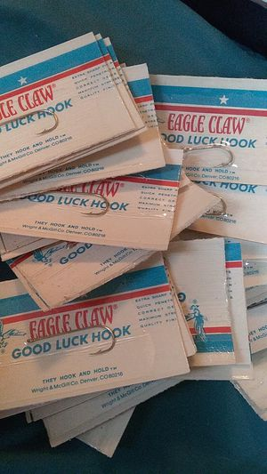 Used, (10) Eagle claw fishing hooks. for Sale for sale  Cleveland, OH