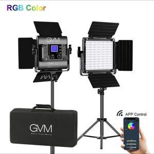 GVM 800D-RGB LED Studio 2-Video Light Ki for Sale in Philadelphia, PA