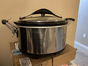 Hamilton Beach Set N Forget Programmable Slow Cooker with Temperature Probe - 6 Qt (33967) for Sale in San Ramon, CA
