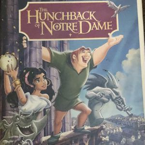 Disney The Hunchback of Notre Dame DVD for Sale in Murfreesboro, TN