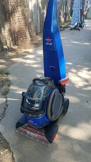 Bissel lift off pro heat carpet cleaner for Sale in Yuba City, CA