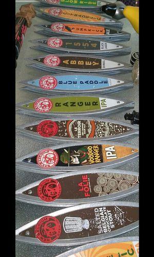 12 New Belgium Surfboard Beer Tap Handles Collection for Sale in La Habra, CA