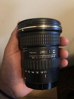 Tokina 11-16 F2.8 for Canon EF Mount for Sale in Atlanta, GA