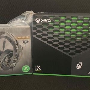 Xbox Series X w/ Rig 500 Pro Headset for Sale in Santa Ana, CA