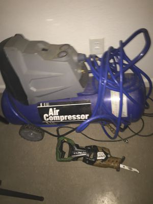 Reciprocating Saw and Air Compressor For only 60$ for Sale in Decatur, GA