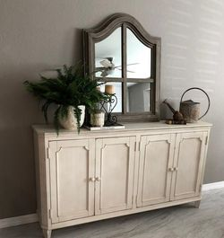 ⭐Instock 🌺Mirimyn Antique White Accent Cabinet☑️New for Sale in Washington,  DC