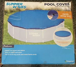 Summer Waves Pool Cover for Sale in Monroeville, AL