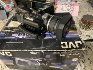 JVC High Definition Camera for iMovie YouTube for Sale in Medley, FL