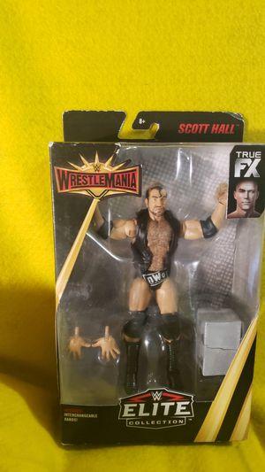 Wrestle Mania Elite Scott Hall Collectibles for Sale in Scottsbluff, NE