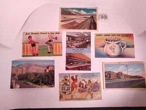 Lot of 7 vintage postcards for Sale in Grand Junction, CO