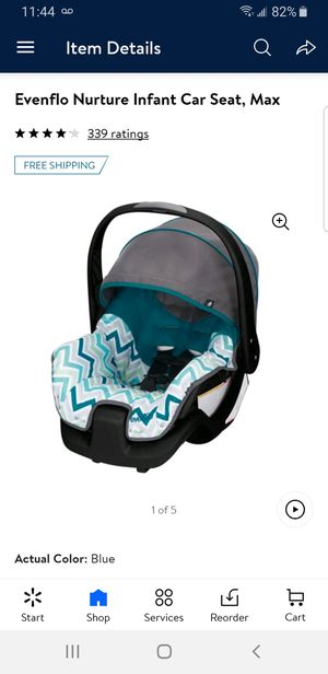 EVEnflo nurture infant car seat Max for Sale in Brooklyn, NY