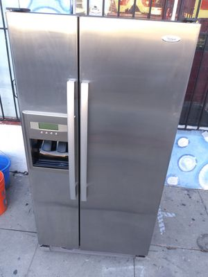 Refrigerator. Kenmore Elite side-by-side Doors Down Still wide 33 high 66 inchs for Sale in Los Angeles, CA