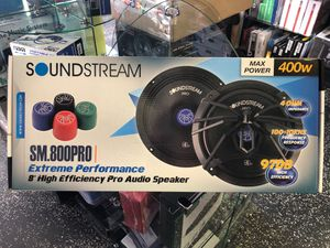 "SoundStream 8"" High Efficiency Pro Audio Speaker for Sale in Montebello, CA"