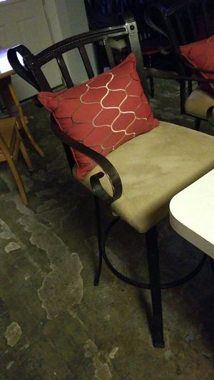 To very nice well made bar stools both of them are $70 together for Sale in San Leon, TX
