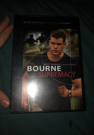 THE BOURNE SUPREMACY for Sale in Bladensburg, MD