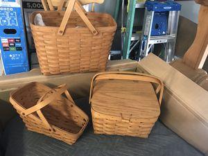 LONGABERGER baskets for Sale in Surprise, AZ