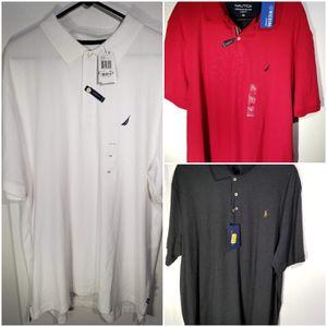 3 Polo shirts BNWT size XXL for Sale in Tacoma, WA