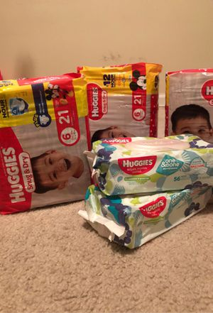 Baby 👶 Diapers & Wipes👶 for Sale in Decatur, GA