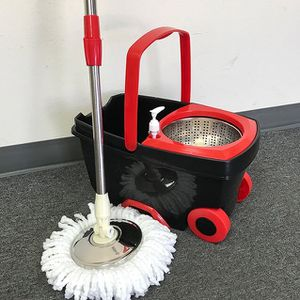 New in box $25 each Deluxe Spin Mop with Wheels and Extended Handle with 2x Microfiber Mop Heads for Sale in El Monte, CA