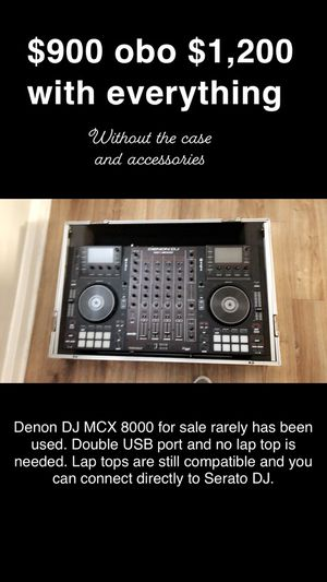 DJ Sound Board- MCX 8000... rarely used. Everything including speaker, mic, mic stand and carrying case. for Sale in Dundalk, MD