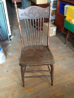 Antique hand carved chair for Sale in St. Louis, MO