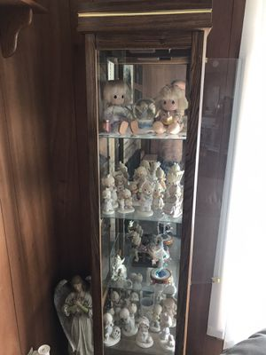 Curio and assorted Precious Moments for Sale in Wampum, PA