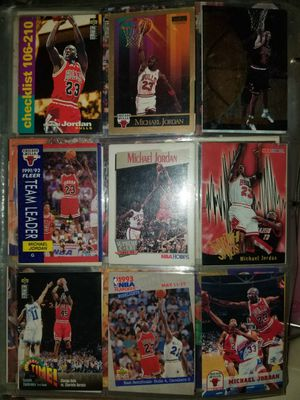 Michael Jordan basketball cards.. price is higher than 1k so best offer for Sale in Chicago, IL
