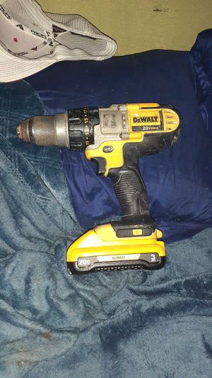 Dewalt 20v Drill with battery for Sale in Everett, WA