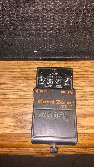 Boss metal zone pedal for Sale in Tacoma, WA
