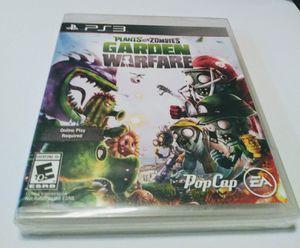 Ps3 Plants vs Zombies Garden Warfare for Sale in Anaheim, CA