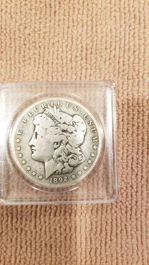 1892 S Morgan silver dollar for Sale in Marysville, WA
