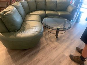 Natuzzi sectional couch for Sale in Lutz, FL