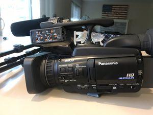 Semi pro Panasonic HMC40 camera/tons of extras for Sale in Seattle, WA