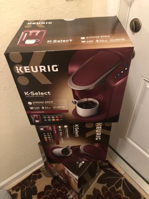 Brand New KEURIG K-Select Coffee Maker for Sale in Fort Lauderdale, FL