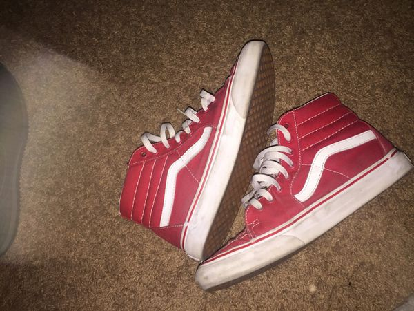 7b2ba94ad51 Red high top vans for Sale in Redwood City