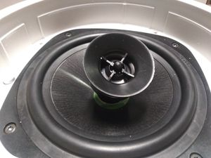 2 in ceiling high performance Klipsch speakers with swivel for Sale in Las Vegas, NV