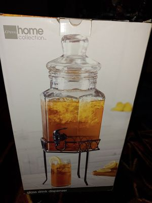 Glass Drink Dispenser for Sale in Aston, PA