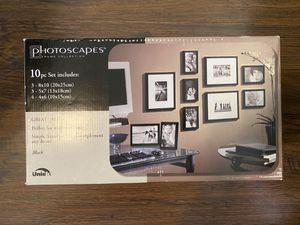 Picture frames 10 piece set for Sale in Chandler, AZ