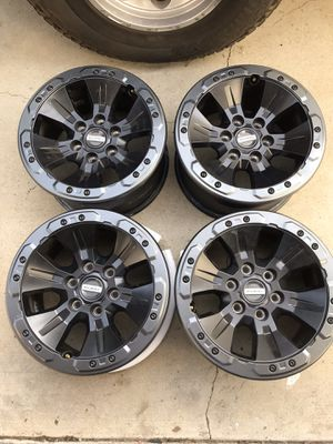 New 2018 Ford Raptor OEM 17 inch Beadlock Rims for Sale in Rancho Cucamonga, CA
