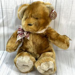 "Dan Dee Collector's Choice Soft Golden Brown Plush Teddy Bear 13"" NWT for Sale in Centerton, AR"