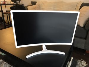 """Acer curved computer monitor 23.6"""" (white) for Sale in San Diego, CA"""