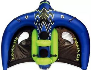 Sevylor Extreme Manta Ray Flying Inflatable Towable Tube Great Condition for Sale in Charlotte, NC