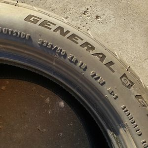 G-MAX AS-05. SIZE: 235/50R18. (2 TIRES) for Sale in Bloomington, IL