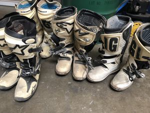 Motocross dirtbike boots for Sale in Santa Ana, CA