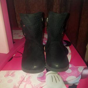 Toddler black boots for Sale in Denver, CO