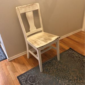 Free Wood Dining Or Desk Chair for Sale in Newcastle, WA