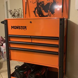 Monster Mobile XL Tool Cart for Sale in Glendale, AZ