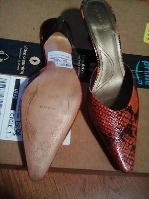 Tahari Snake Skin Heels for Sale in Fresno, CA