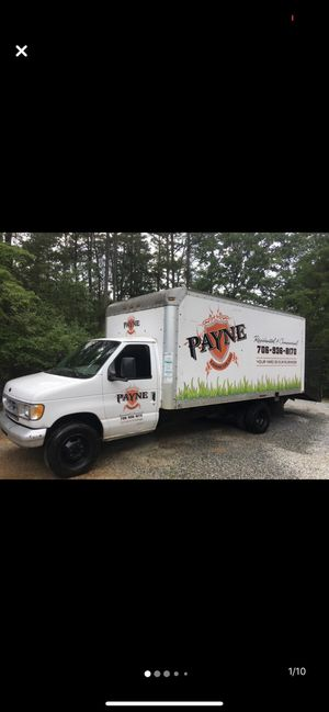 Ford 350 EcoVan (16ft boxtruck w/ ride up ramp). for Sale in Fairburn, GA