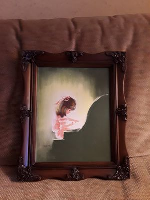 """Framed artwork """"Piano Recital"""", limited edition, numbered and signed for Sale in Kent, WA"""